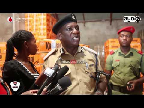 Polisi Dodoma wamekamata viroba vyenye thamani ya Tsh milioni 300