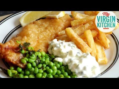 HOMEMADE FISH & CHIPS RECIPE