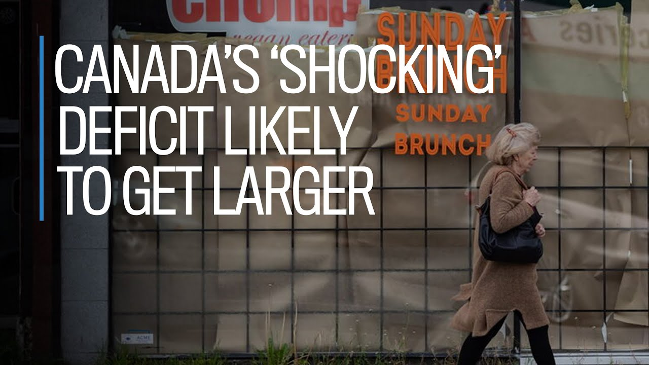 Canada's 'shocking' deficit likely to get larger: Craig Alexander