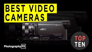 Top 10 Video Cameras - Professional Camcorders - 2020
