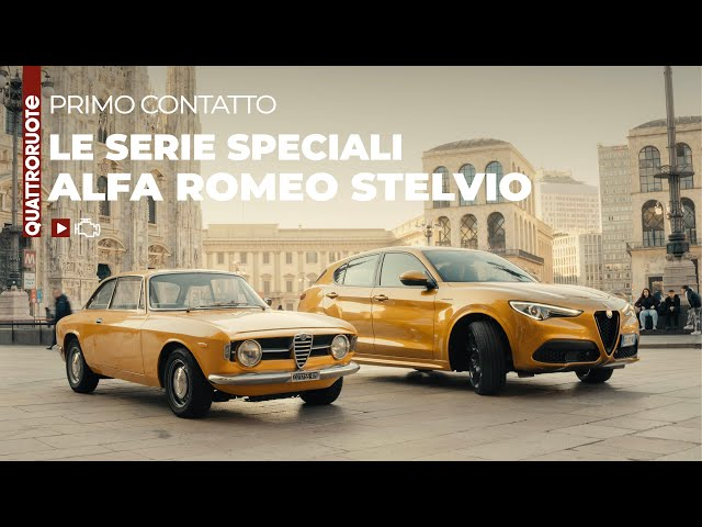 Alfa Romeo Stelvio 2021: 6C Villa d'Este e GT Junior