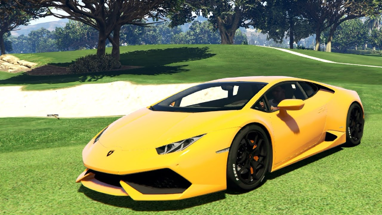 lamborghini huracan 2015 v1 0 gta v youtube. Black Bedroom Furniture Sets. Home Design Ideas