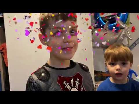 David Birthday He Is 6 Years Old | Birthday Presents Unpacking