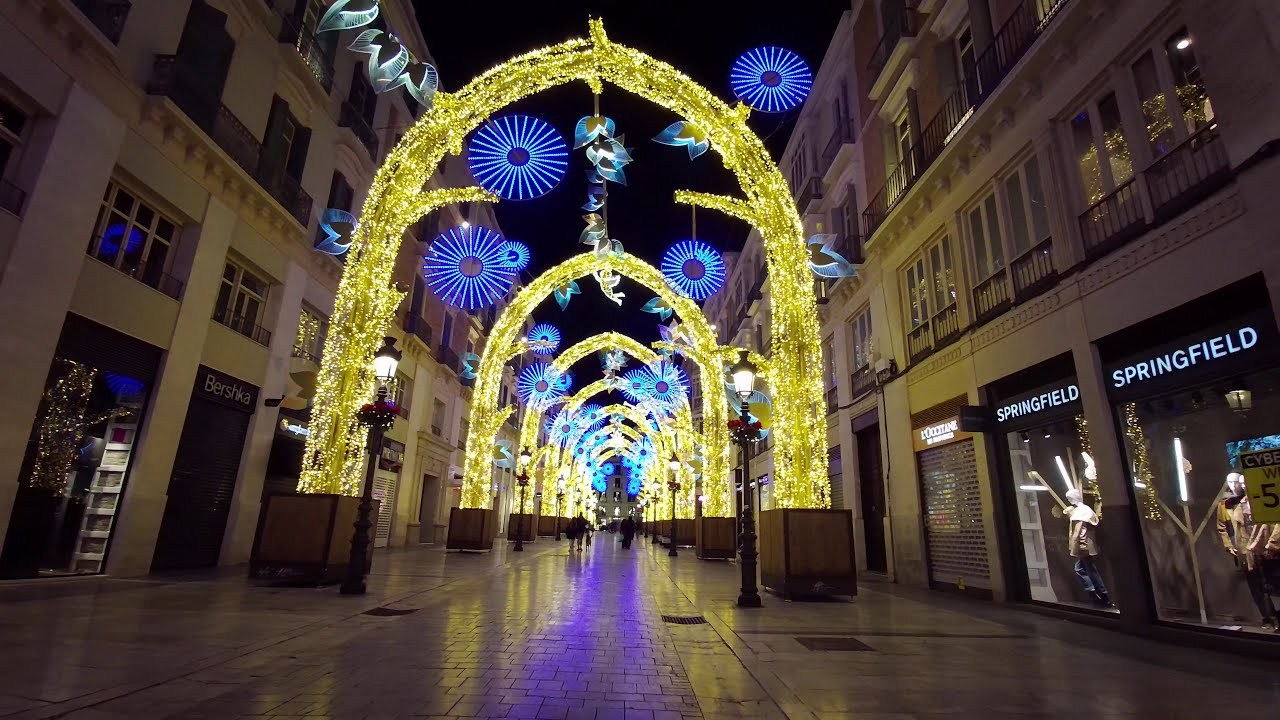 2021 Christmas Lights Most Beautiful Christmas Lights New Year 2020 2021 In Spain Youtube