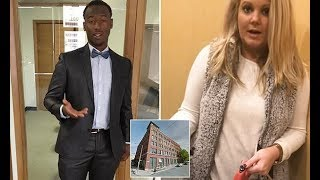 Black Man DEFENDS White Woman Who BLOCKED Him From Entering into His Luxury Loft
