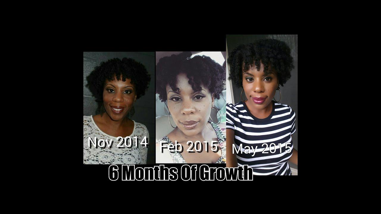 Length of hair growth cycle