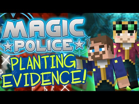 Minecraft Magic Police 73 Planting Evidence Yogscast Complete