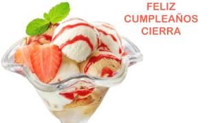 Cierra   Ice Cream & Helados