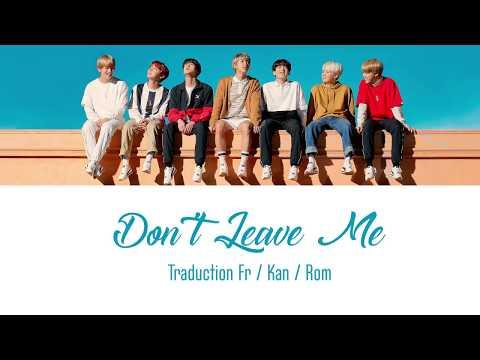 BTS | Don't Leave Me VOSTFR/ENTIÈRE