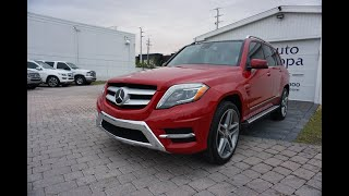 This 2013 Mercedes-Benz GLK350 is Sharp Looking, Fun To Drive, and I like it Better Than I Thought
