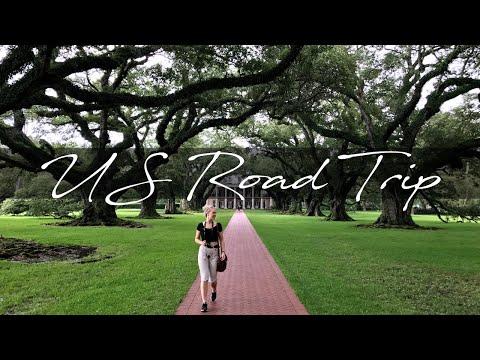 AMERICAN ROAD TRIP 2017   New Orleans, Pensacola, Memphis, Nashville   GoPro Hero 5 Black (4K)
