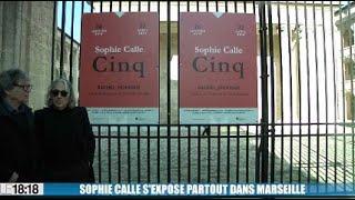 Sophie Calle s'expose partout dans Marseille