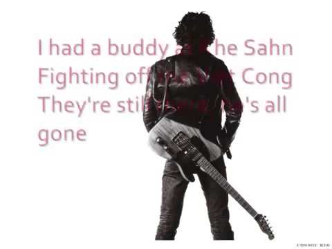 Bruce Springsteen   Born in the USA with lyrics