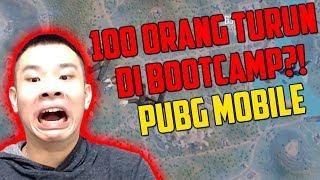 100 ORANG JANJIAN TURUN DI BOOTCAMP?!  PUBG MOBILE