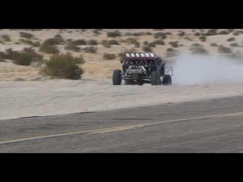 RUSTY STEVENS PLASTER CITY TESTING 2010 Trophy Truck 89 TT89 RustyUnlimited EC Motorsports