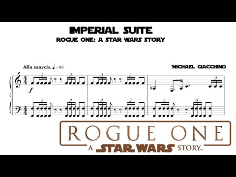 Imperial Suite for piano - Star Wars Rogue One