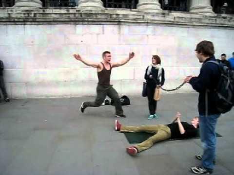 Street Basking In London