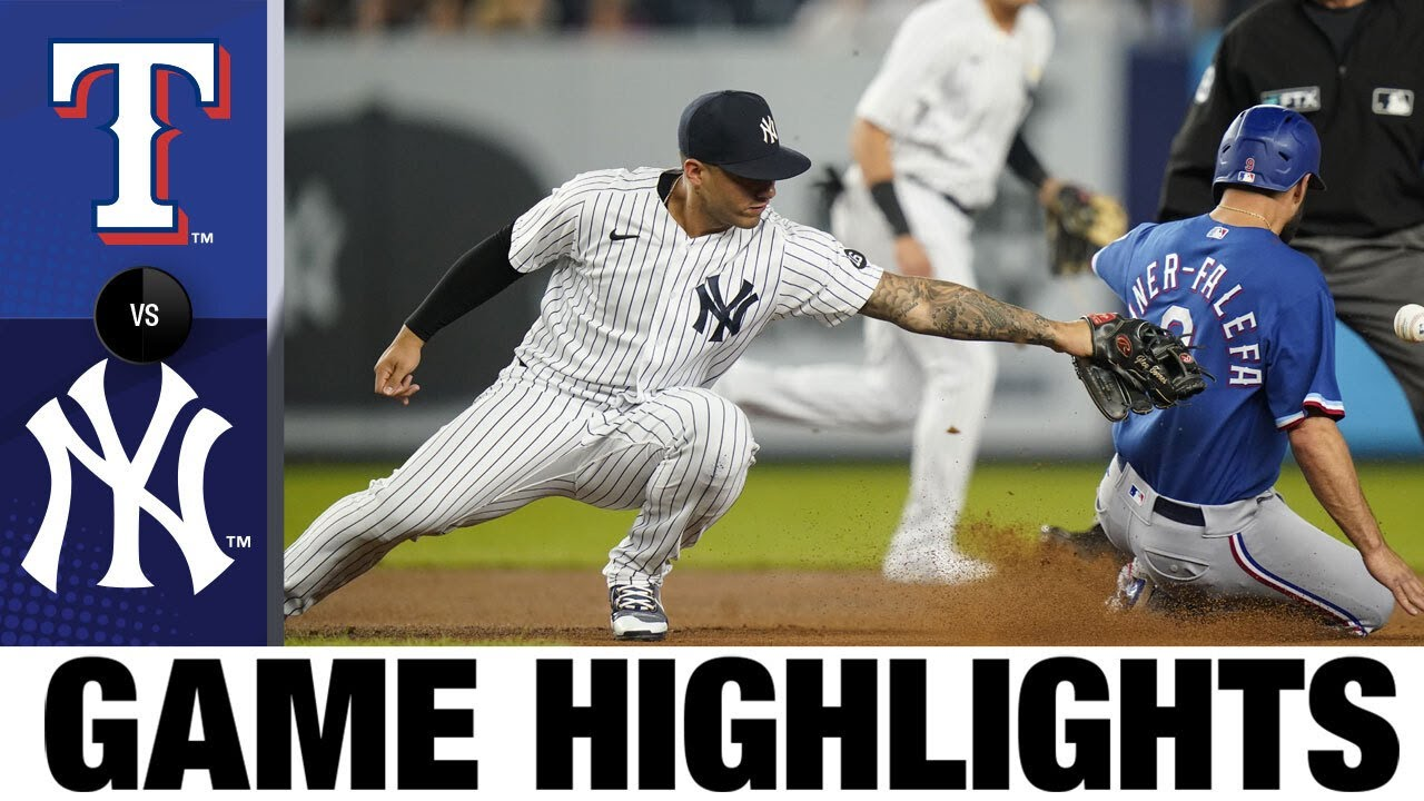Download Rangers vs. Yankees Game Highlights (9/22/21) | MLB Highlights