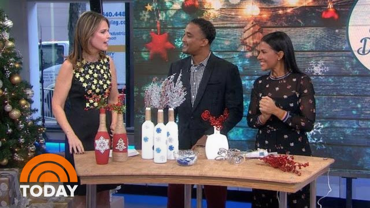 DIY Christmas Decor: Try These Indoor And Outdoor Holiday Hacks   TODAY