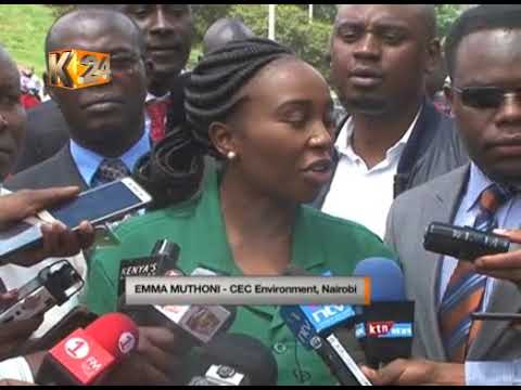 Nairobi county Gov't embarks on a massive clean up exercise