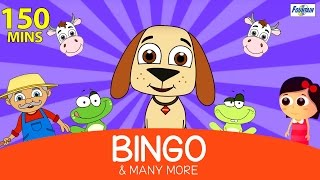 Bingo Was His Name O & Many More - 150 Mins of Rhymes for Children | English Kids Songs
