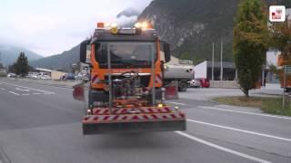 Die orange Flotte - perfekter Straßendienst in Tirol