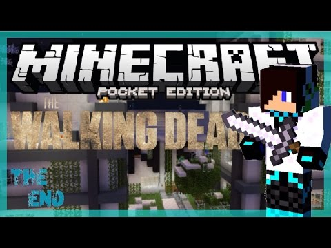 [Minecraft PE] Adventure Map: The Walking Dead - The End