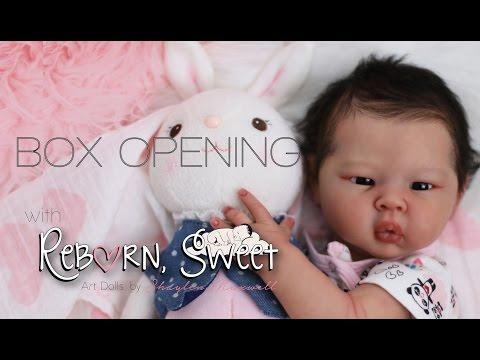 Reborn Sweet Box Opening Silvia Creations *Liu San* Stoete