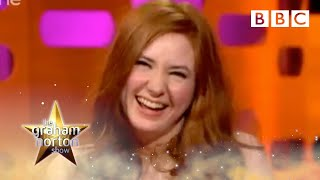 Why Doctor Who's Amy Pond is like a badly paid stripper? | The Graham Norton Show - BBC