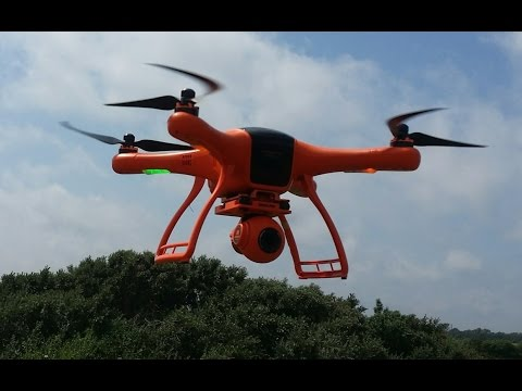Квадрокоптер для съемок Wingsland Scarlet Minivet с камерой, подвесом и FPV, Banggood