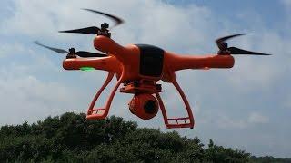 Квадрокоптер для съемок Wingsland Scarlet Minivet с камерой, подвесом и FPV, Banggood(Квадрокоптер Wingsland Scarlet Minivet 5.8G FPV With HD Camera Купить можно тут: ..., 2015-07-08T07:49:17.000Z)