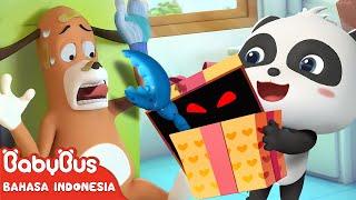 Apa Hadiah Spesial Dari Kiki Untuk Tuan Dao?   Kartun Anak Indonesia   BabuBus Bahasa Indonesia