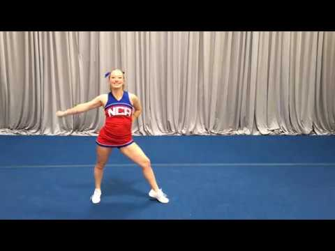 Tryout (Short) Dance Front View to Music