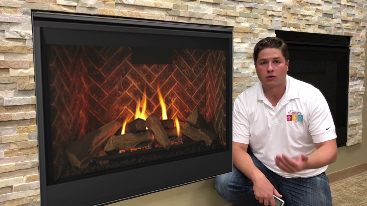 majestic meridian direct vent gas fireplace review youtube