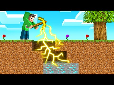 We Added 5 NEW PICKAXES In MINECRAFT! (Overpowered)
