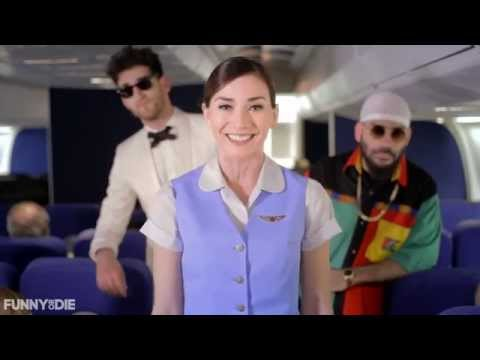 Chromeo's In-Flight Safety Video - Chromeo - Frequent Flyer