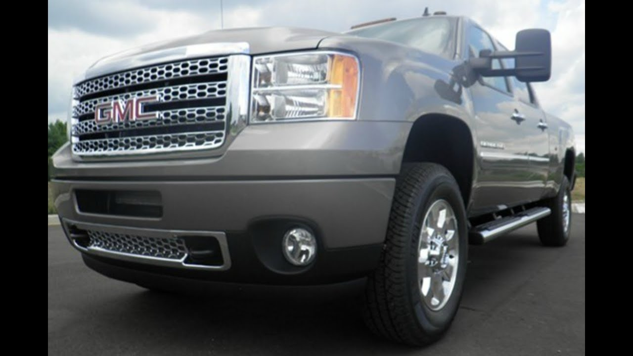 2014 GMC 3500 HD CREWCAB DENALI 4X4 6 6 DURAMAX ALLISON TRANSMISSION STEEL GREY METALIC FOR SALE