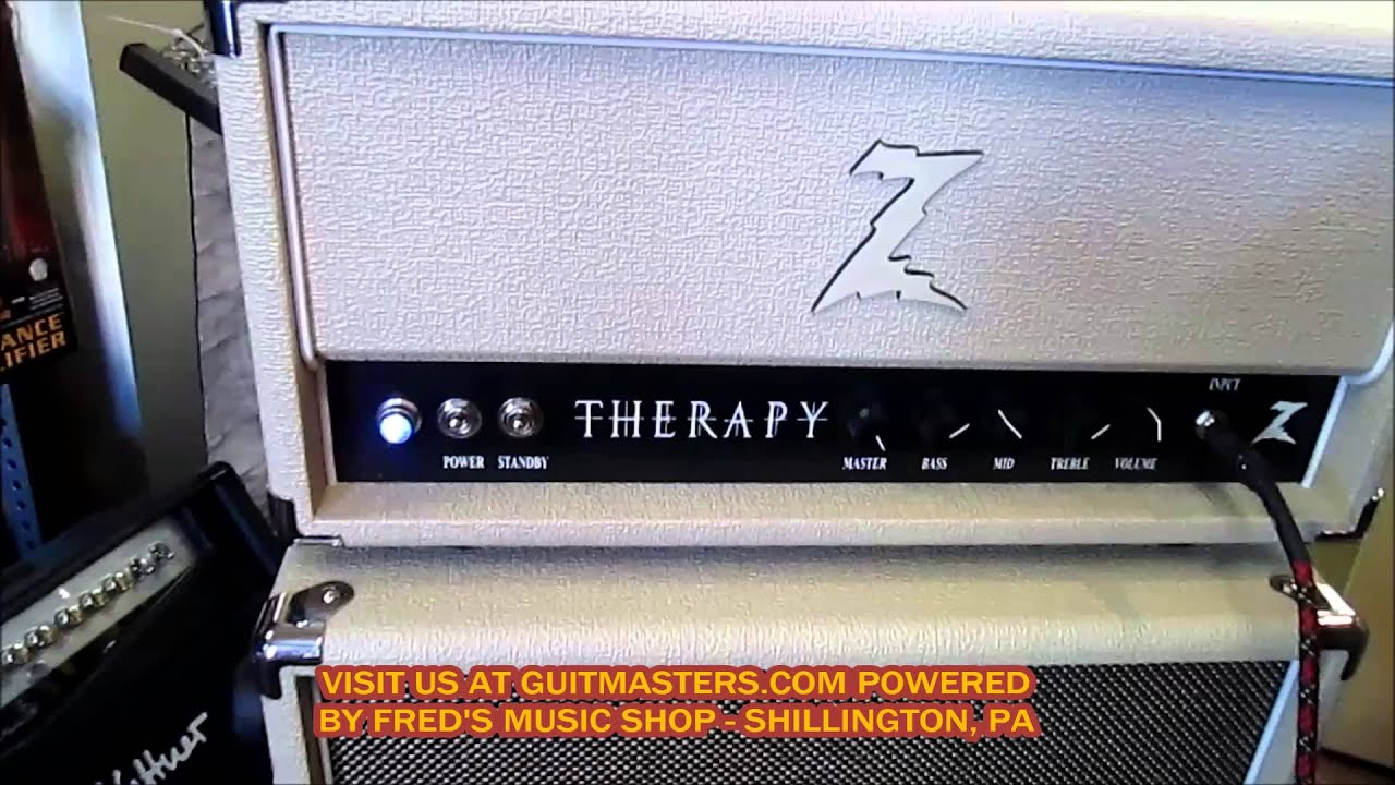 DR Z. THERAPY AMP AND Z-BEST CABINET DEMO BY FRED HIMSELF - YouTube