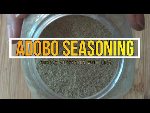 How To Make Adobo Seasoning Recipe Episode 313 Youtube