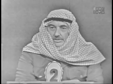 To Tell the Truth - Commander of the Arab Legion (Nov 14, 1960)