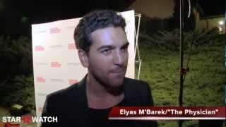 Elyas m'barek red carpet interview at 20th annual hamptons international film festival