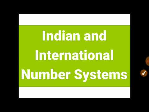 Indian and International Number System, lockdown STUDY at home #staysafe