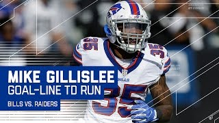 Mike Gillislee Carries the Bills Down the Field for the TD! | Bills vs. Raiders | NFL