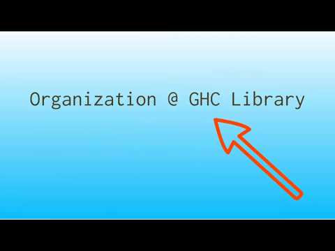 Organization at the Grays Harbor College library
