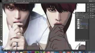 Download Speedpaint - Jaejoong