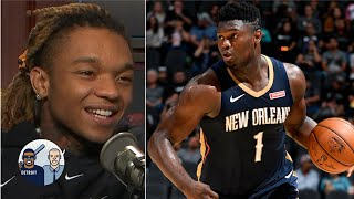 Swae Lee talks Zion's hype, Shaq and Lillard rap beef | Jalen & Jacoby