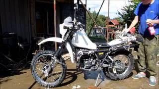 Mytí motorky +