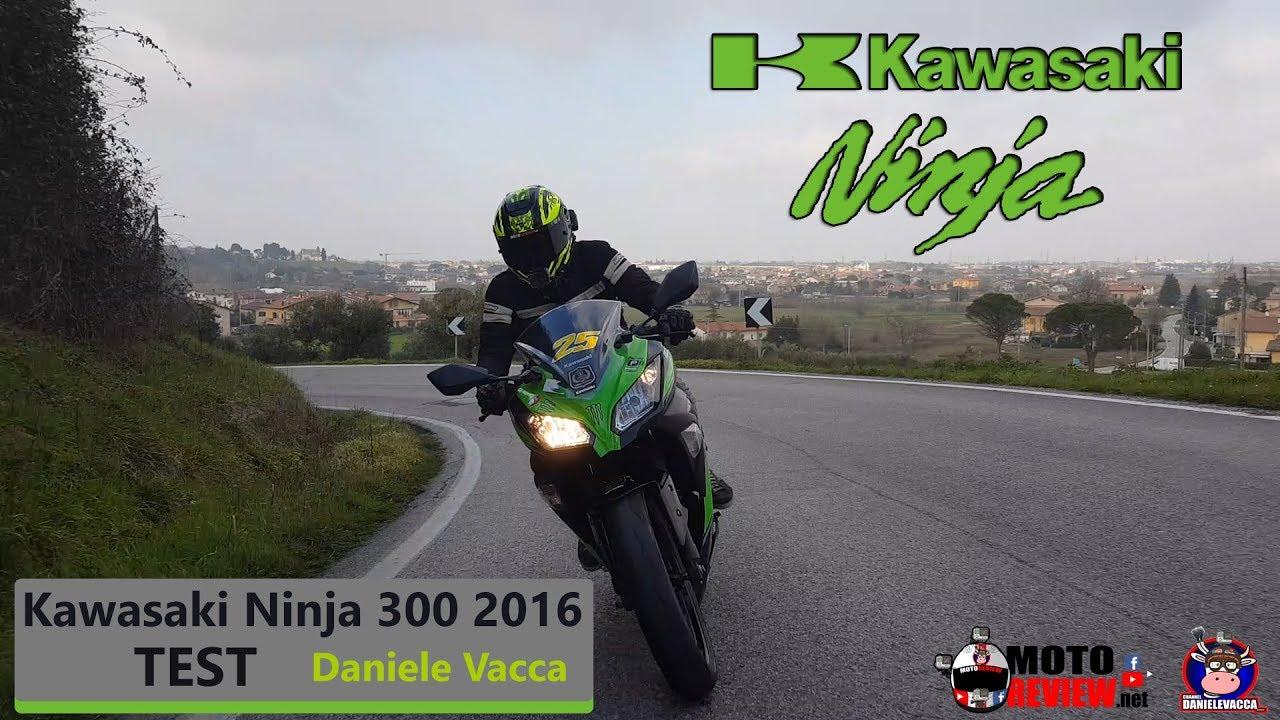 Recensione Kawasaki Ninja 300 2016 Patente A2 Youtube