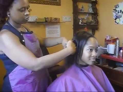 black hair salons in houston l drastic hair cut l short