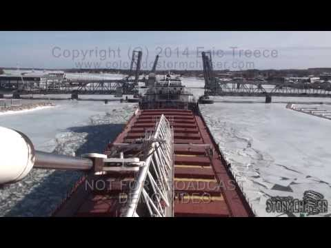 SS Wilfred Sykes Dept Sturgeon Bay,WI - 15 March 2014